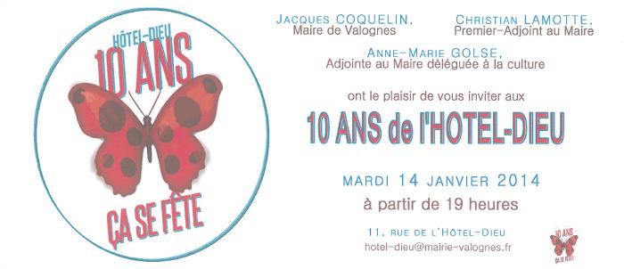 Exposition à L'Hôtel Dieu de Valognes, Normandie