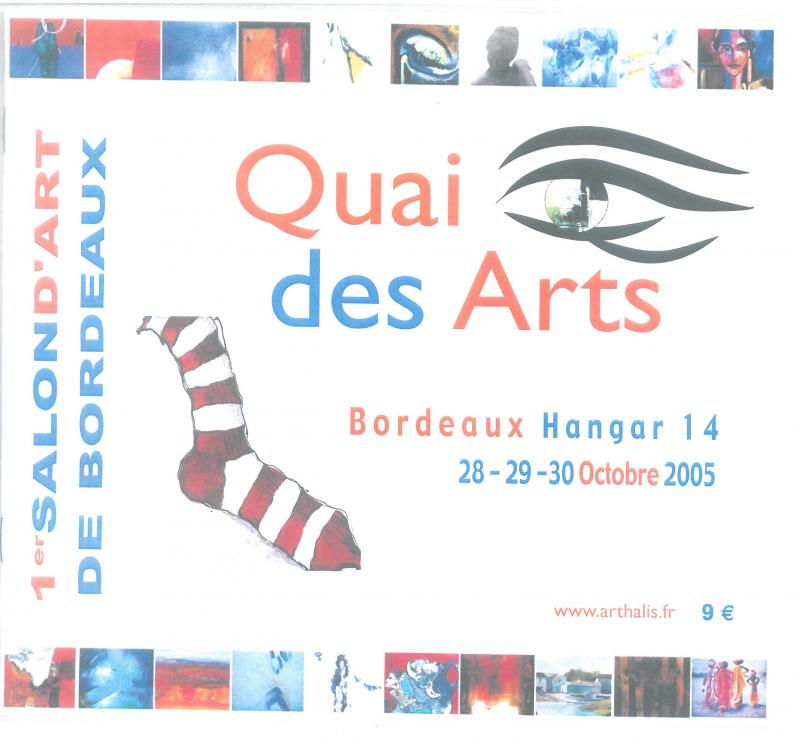 2005 Quai des Arts Bordeaux – France