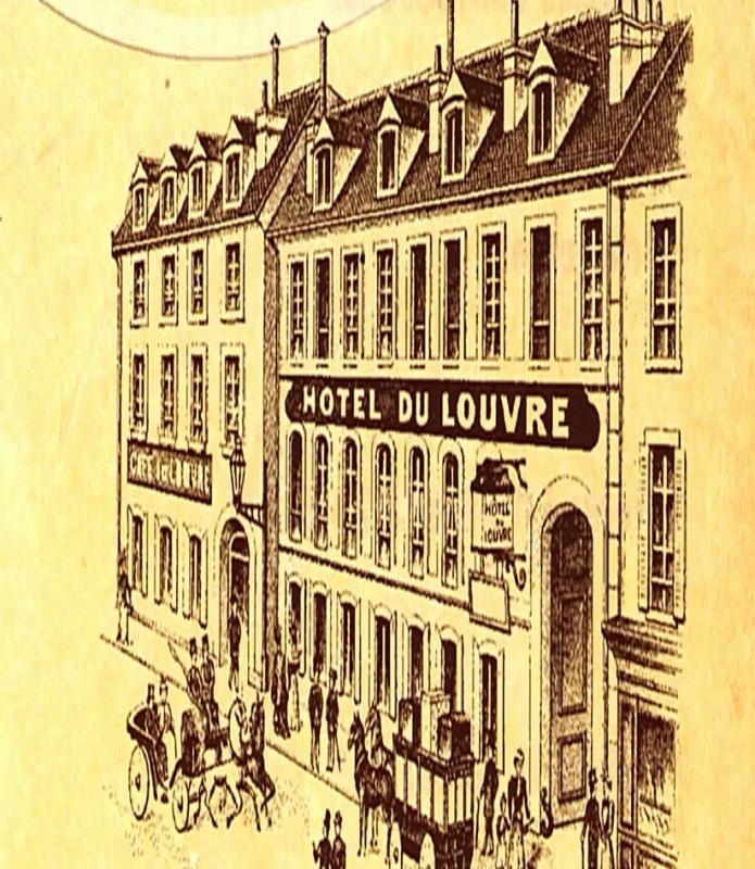Exposition Grand Hôtel du Louvre à Valognes juillet aout 2017