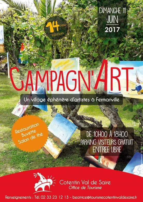 11 juin 2017 Campagn'Art à Fermanville (50)