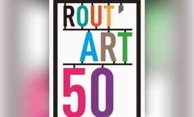 Rout'Art50 les 19, 20 et 21 mai 2018, ouverture d'ateliers d'artistes